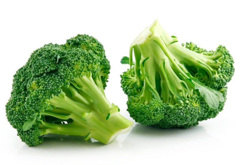 ripe raw broccoli