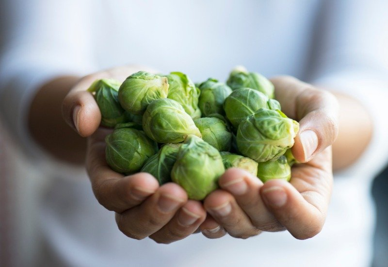 handful of brussels sprouts