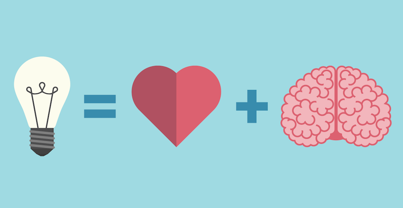 the heart and brain are connected in the healing process