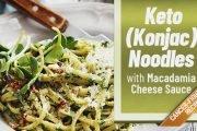 keto (konjac) noodles recipe