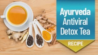 Powerful Ayurveda-Inspired (& Antiviral) Detox Tea Recipe