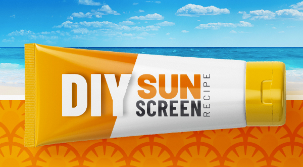 DIY Sunscreen Recipe