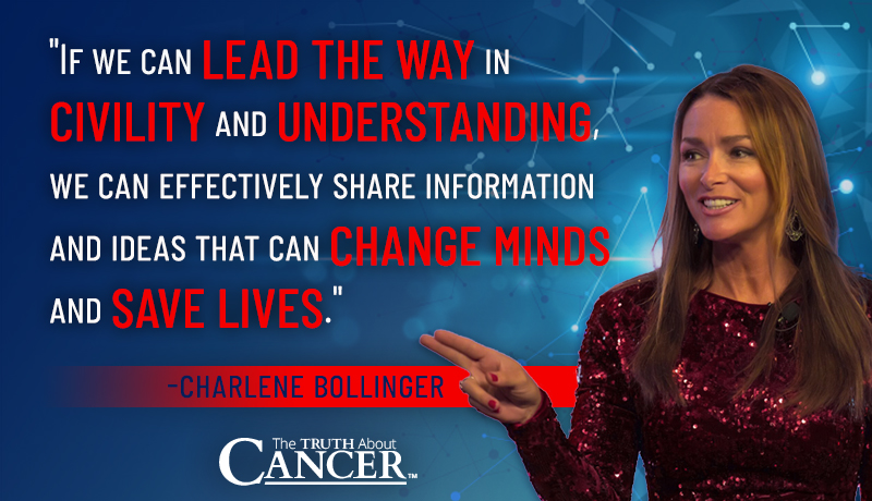 quote by charlene bollinger vaccines and civility