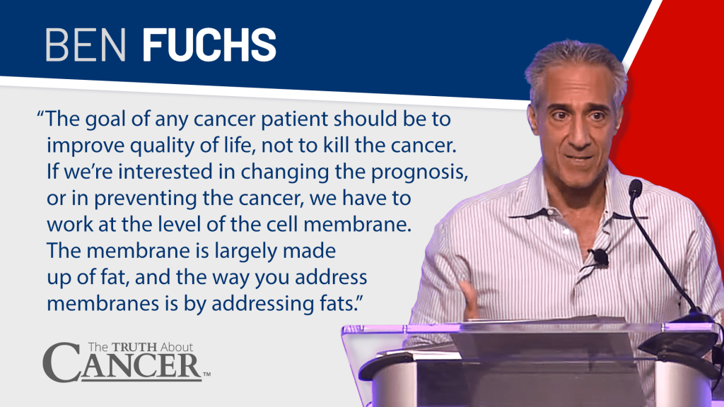 ben fuchs on vitamins and supplements to fight cancer