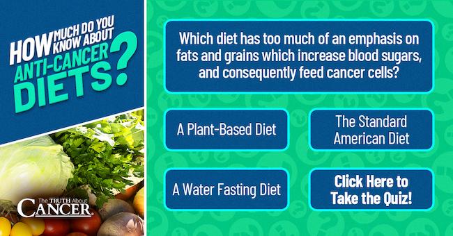anti-cancer diet quiz