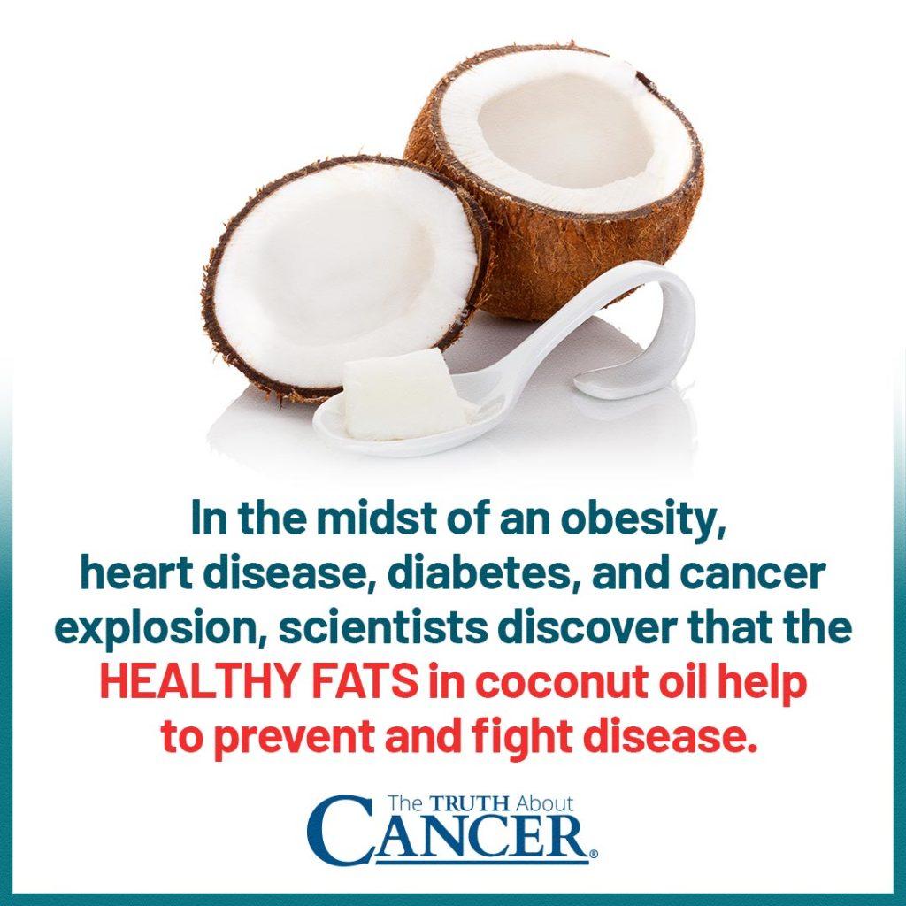 Healthy Fats in Coconut Oil Fight Disease