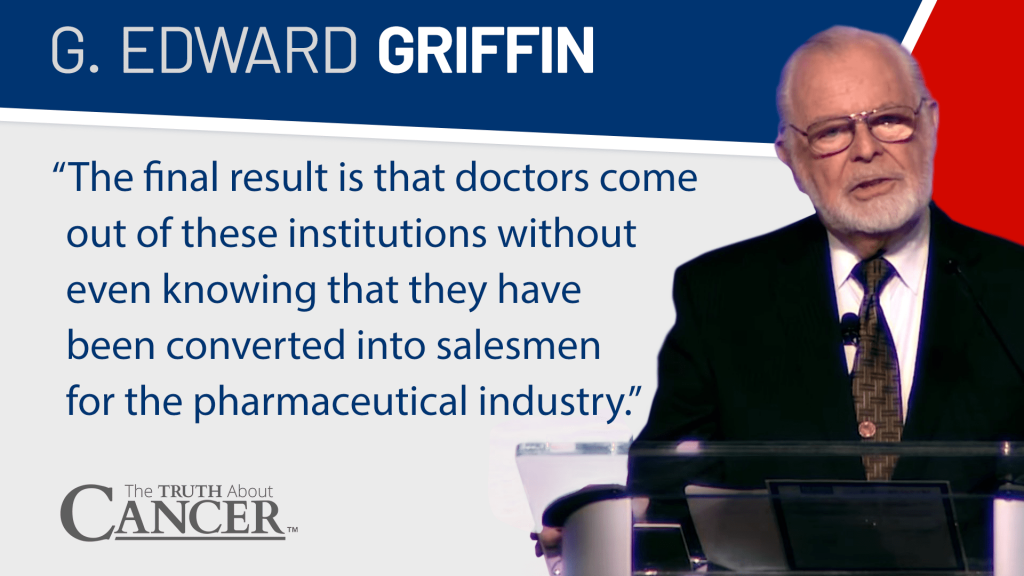 Quote from G. Edward Griffin on Modern Medicine at TTAC LIVE 2017