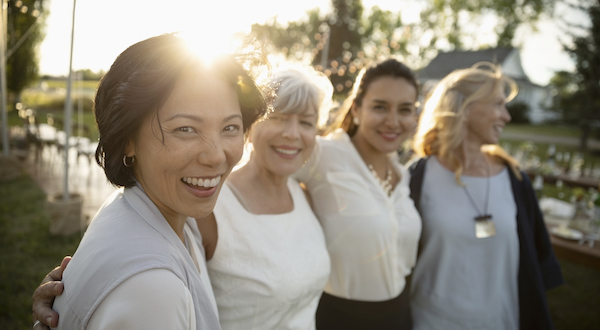 How to Get Healthy - Happy Group of Women