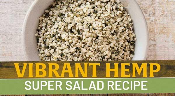 hemp super salad recipe