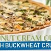 Coconut Cream Vegetarian Quiche Recipe
