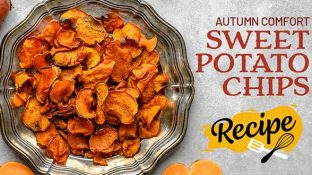 Autumn Comfort Sweet Potato Chips Recipe
