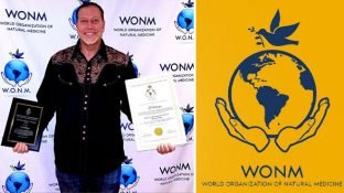 Ty Bollinger Receives Honorary Doctorate from World Organization of Natural Medicine