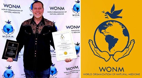 Ty Bollinger Receives Honorary Doctorate from WONM