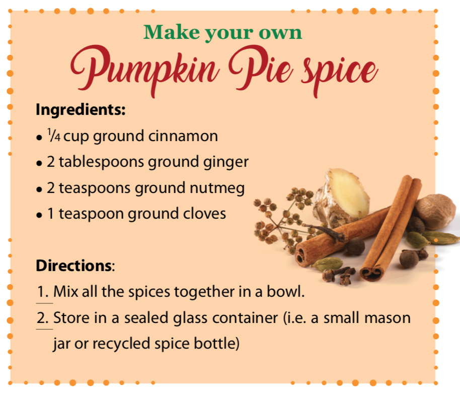 pumpkin spice recipe