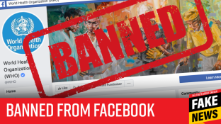 [SATIRE] Facebook Bans W.H.O. Due to Recent 'Anti-Vaccine' Comments