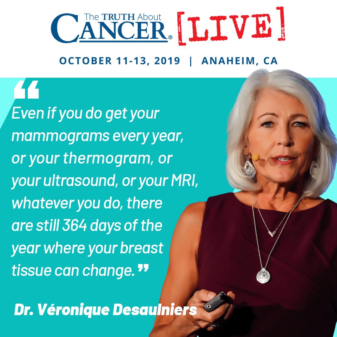 Dr. Veronique Desaulniers Quote on Mammograms
