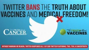 Twitter BANS the TRUTH about VACCINES and Medical Freedom