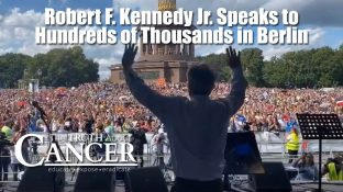 "Robert F. Kennedy Jr. Speaks to ""the largest crowd in German history"""
