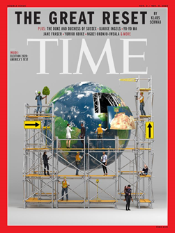 TIME magazine great reset