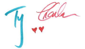 Ty and Charlene Signature