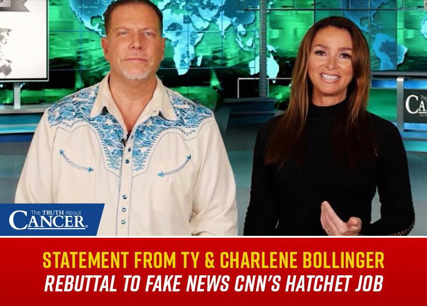 Bollinger response to CNN slander