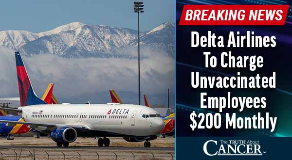 Delta Airlines To Charge Unvaccinated Employees $200 Monthly