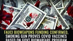 Fauci bioweapons funding CONFIRMED, smoking gun proves covid vaccines based on govt biowarfare program