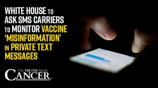 White House to Ask SMS Carriers to Monitor Vaccine 'Misinformation' in Private Text Messages