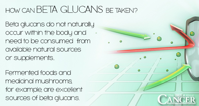 How can Beta Glutens be taken