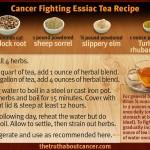 essiac tea ingredient